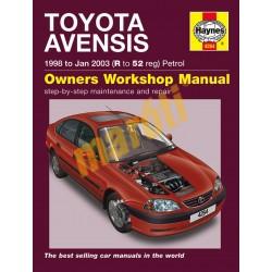 Toyota Avensis Petrol (1998 - Jan 03) R to 52