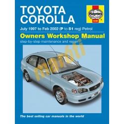 Toyota Corolla Petrol (July 97 - Feb 02) P to 51
