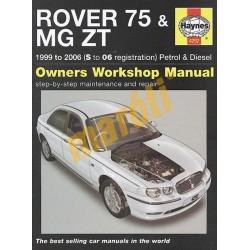 Rover 75 / MG ZT Petrol & Diesel (1999 - 06) S to 06