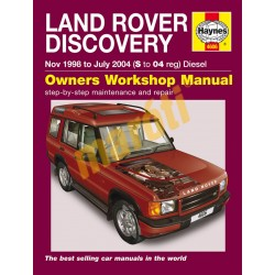 Land Rover Discovery Diesel (Nov 98 - Jul 04) S to 04