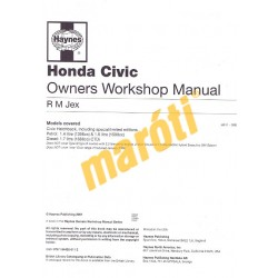 Honda Civic Petrol & Diesel (01 - 05) X to 55
