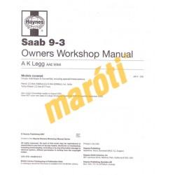 Saab 9-3 Petrol & Diesel (1998 - Aug 02) R to 02