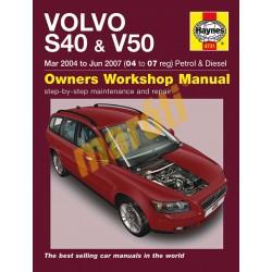 Volvo S40 & V50 Petrol & Diesel (Mar 04 - Jun 07) 04 to 07