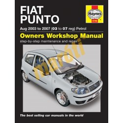 Fiat Punto Petrol (Aug 03 - 07) 03 to 07