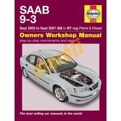 Saab 9-3 Petrol & Diesel (Sept 02 - Sept 07) 52 to 57
