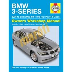 BMW 3-Series petrol & diesel (05 - Sept 08) 54 to 58