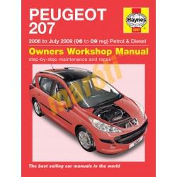 Peugeot 207 Petrol & Diesel (06 - July 09) 06 to 09