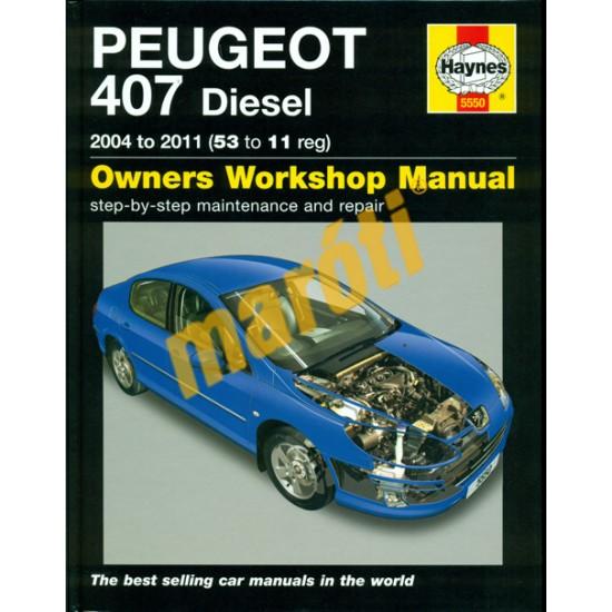Peugeot 407 Diesel 2004 - 2011