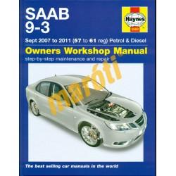 Saab 9-3 Sept 2007 to 2011 Petrol & Diesel