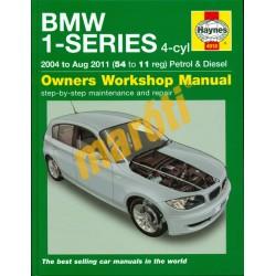 Bmw 1-series 4-cyl (2004 to Aug 2011 Petrol & Diesel)