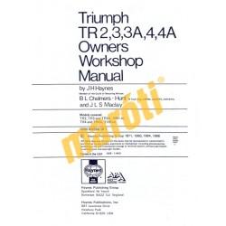 Triumph TR2, TR3, TR3A, TR4 & TR4A (1952 - 1967) up to F