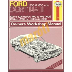 Ford Cortina Mk III 1300 & 1600 (1970 - 1976) up to P