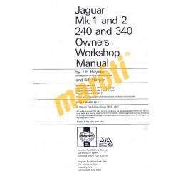 Jaguar MkI & II, 240 & 340 (1955 - 1969) up to H (HASZNÁLT)