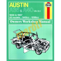 Austin A35 & A40 (1956 - 1967) up to F