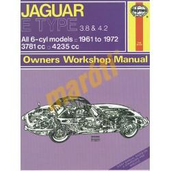 Jaguar E Type (1961 - 1972) up to L