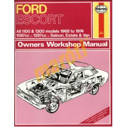 Ford Escort Mk I 1100 & 1300 (1968 - 1974) up to N