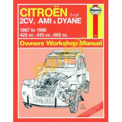 Citroen 2CV, Ami & Dyane (1967 - 1990) up to H