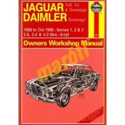 Jaguar XJ6, XJ & Sovereign; Daimler Sovereign (1968 - Oct 86) up t