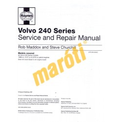 Volvo 240 Series Petrol (1974 - 1993) up to K