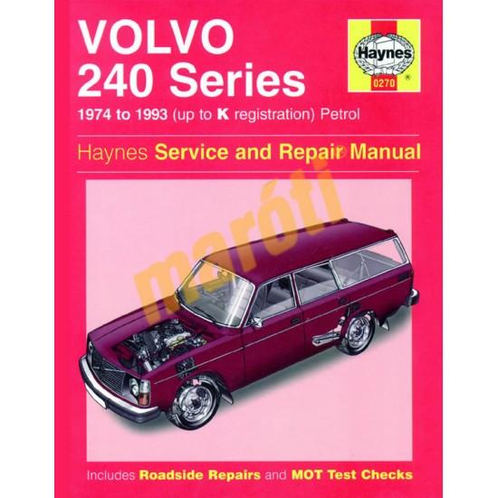 Volvo 240 Series Petrol (1974 - 1993) up to K