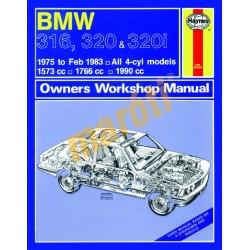 BMW 316, 320 & 320i (4-cyl) (1975 - Feb 83) up to Y