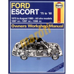 Ford Escort (1975 - Aug 80) up to V