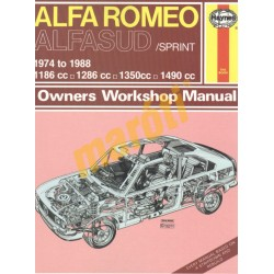 Alfa Romeo Alfasud/Sprint (1974 - 1988) up to F