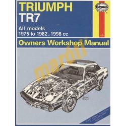 Triumph TR7 (1975 - 1982) up to Y