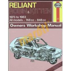 Reliant Robin & Kitten (1973 - 1983) up to A (HASZNÁLT)