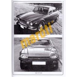 Jaguar XJ12, XJS & Sovereign; Daimler Double Six (1972 - 1988) up to (HASZNÁLT)