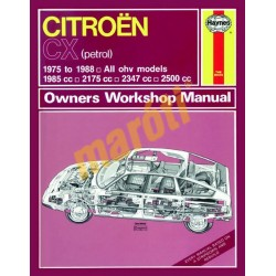 Citroen CX Petrol (1975 - 1988) up to F