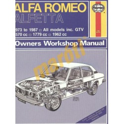 Alfa Romeo Alfetta (1973 - 1987) up to E