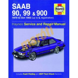 Saab 90, 99 & 900 (1979 - Oct 93) up to L