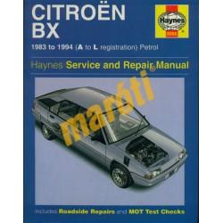 Citroen Bx (1983-1994 Petrol)