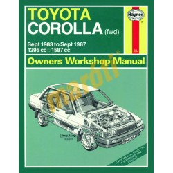 Toyota Corolla (Sept 83 - Sept 87) A to E