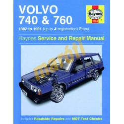 Volvo 740 & 760 Petrol (1982 - 1991) up to J