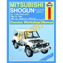 Mitsubishi Shogun & L200 Pick-Ups Petrol (1983 - 1994) up to M