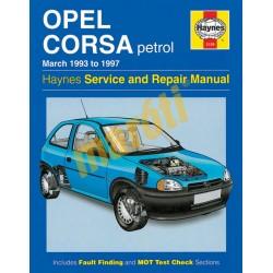 Opel Corsa Petrol (Mar 93 - 1997)