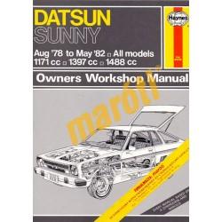 Datsun Sunny (Aug 78 - May 82)