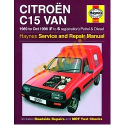 Citroen C15 Van Petrol & Diesel (1989 - Oct 98) F to S