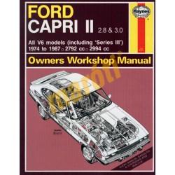 Ford Capri II (& III) 2.8 & 3.0 V6 (1974 - 1987) up to E