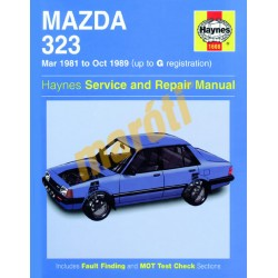 Mazda 323 (Mar 81 - Oct 89) up to G