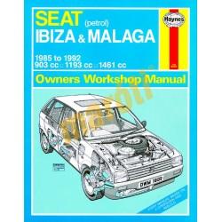 Seat Ibiza & Malaga Petrol (1985 - 1992) B to K