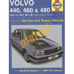 Volvo 440, 460 & 480 Petrol (1987 - 1997) D to P