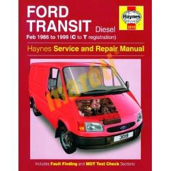 FORD TRANSIT DIESEL (FEB 86 - 1999) C TO T (HASZNÁLT)