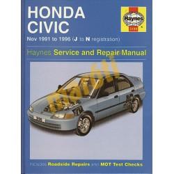 Honda Civic (Nov 91 - 1996) J to N
