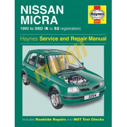 Nissan Micra (1993 - 02) K to 52
