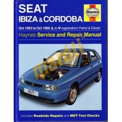 Seat Ibiza & Cordoba Petrol & Diesel (Oct 93 - Oct 99) L to V