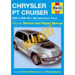 Chrysler PT Cruiser (00 - 09) W to 09
