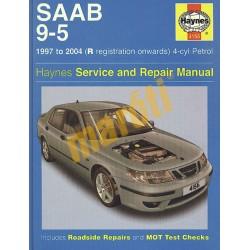 Saab 9-5 4-cyl petrol (1997 - 05) R to 55